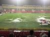 Partido entre DEPORTES TOLIMA y Junior fue suspendido por fuertes lluvias en Ibagué: Así se jugará la reanudación