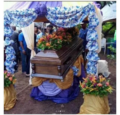 Photo of Tagbo's burial