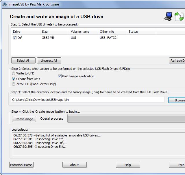 TECHEREST : วิธีการ clone USB thumbdrive จาก Master drive ไปยัง new