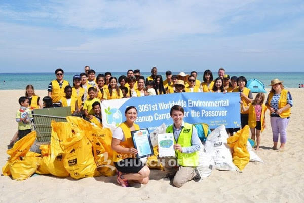 3051stWorldwide Environmental Cleanup Campaign for Passover at Chelsea Beach, VIC