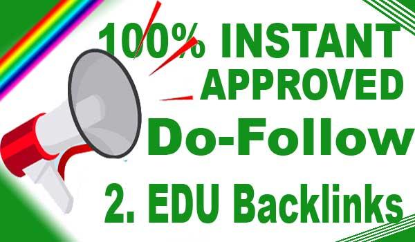 100% approved edu do follow backlinks