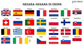 Daftar Negara Di Benua Eropa Dan Ibukotanya