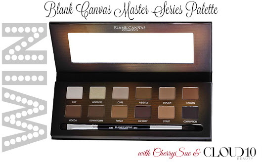 #CherryChristmas Day 15 ~ WIN The Blank Canvas Master Series Palette!