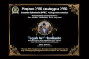 DPRD Sekadau Berduka, Anggota DPRD Sekadau Teguh Arif Hardianto Meninggal Dunia