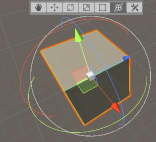 transform tool in unity editor