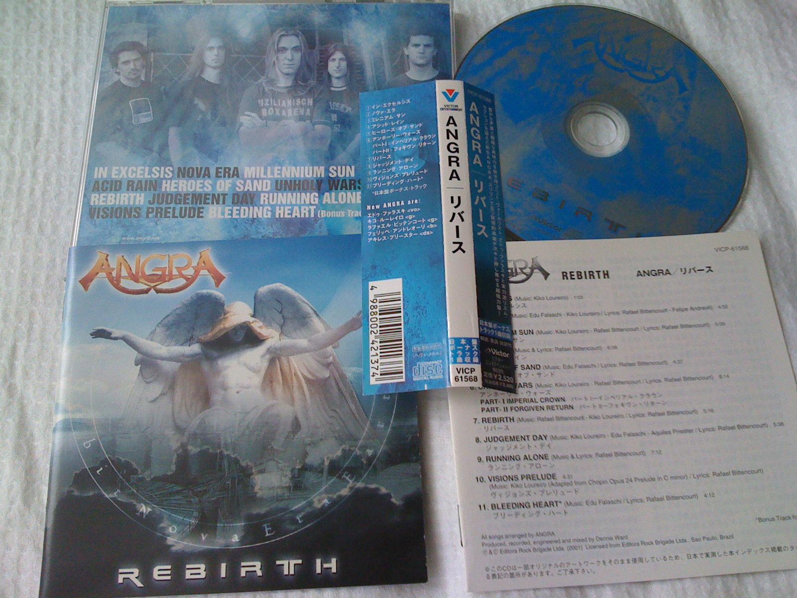 album angra rebirth