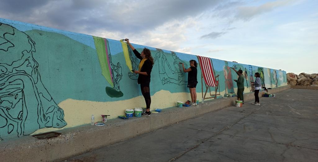Αλλάζει όψη το Λιμανάκι του Παλουκίου- Σε εξέλιξη το Φεστιβάλ γκράφιτι με τίτλο «Αλλάζουμε την Πόλη» που διοργανώνουνΔήμος Ήλιδας και Περιφέρεια Δυτικής Ελλάδας (photos)