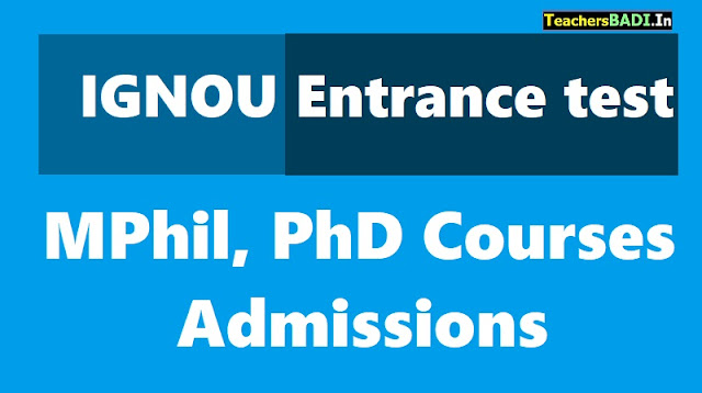 ignou online entrance test forignou mphil, phd admissions 2018 apply online,ignou hall ticket,ignou results,ignou online application form