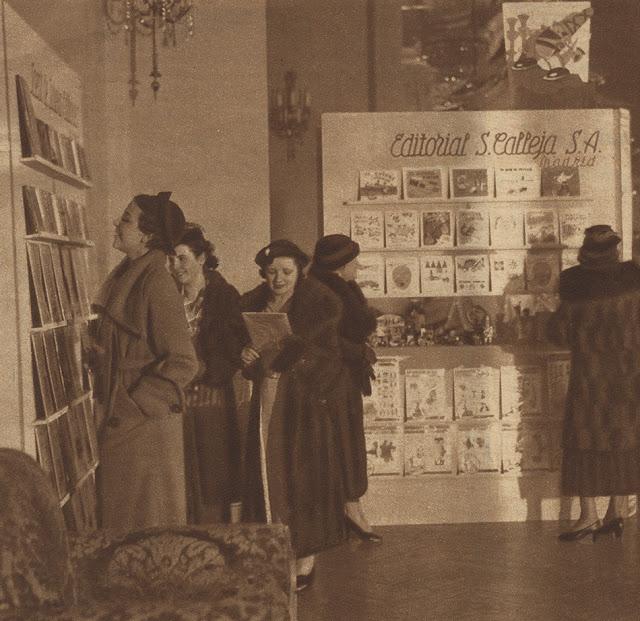 I Exposición del Libro Infantil 1935 - Calleja