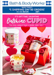 Bath & Body Works | Today's Email - February 1, 2020