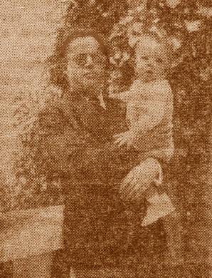 Fabià Fernández, con su hijo Fabià