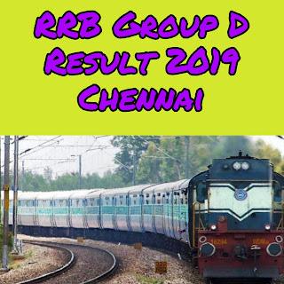 RRB Group D Result chennai 2018 exam kaise check kare jane hindi me