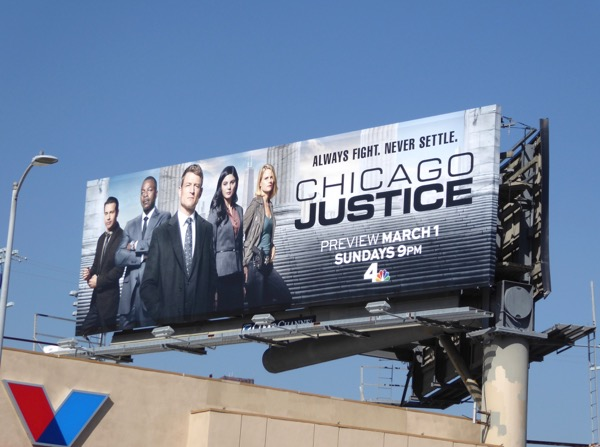 Chicago Justice season 1 billboard