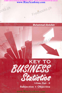 Key Book for Business Statistics I Com Part 2 by Abdullah