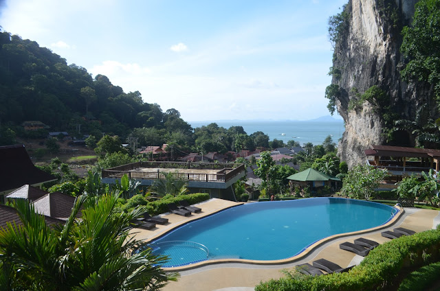 View from our Room at Railay Phutawan Resort, Thailand