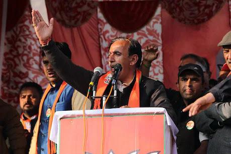 बड़ी ख़बर: शिमला के जुब्बड कोटखाई से BJP विधायक नरेंद्र बरागटा का चंडीगढ़ PGI निधन