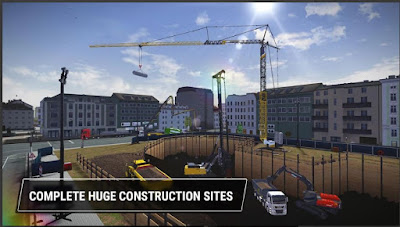 Game Alat Berat Excavator Construction Simulator 3 APK MOD