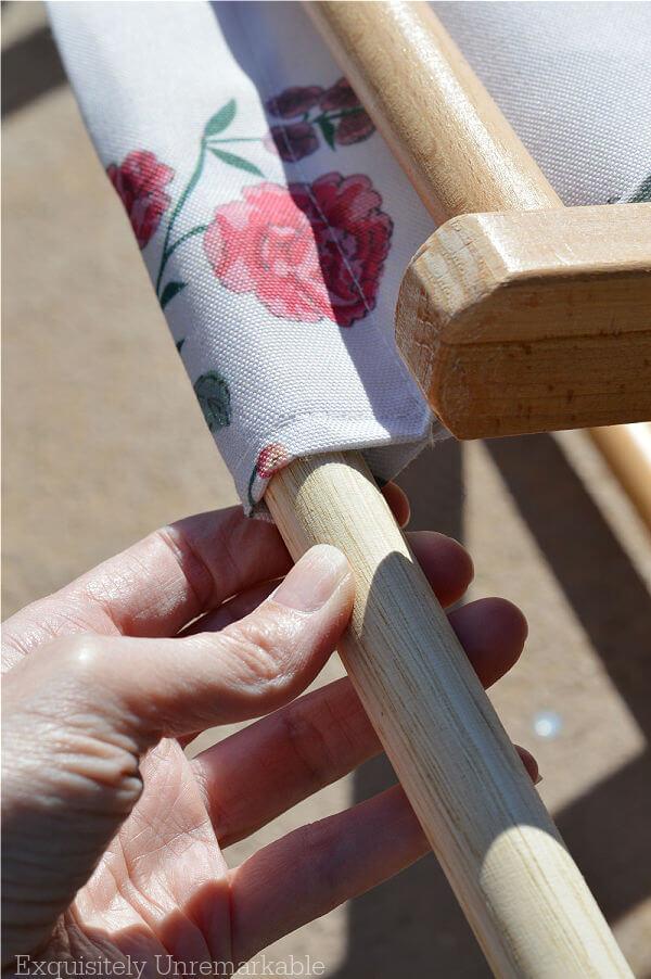 Assembling Cabana Chair