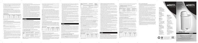 Bedienungsanleitung Handbuch Gebrauchsanleitung Brita AquaAroma Crema