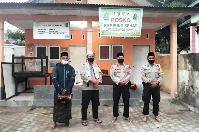 Kapolres Lotim Tinjau Kesiapan Lomba Kampung Sehat di Kecamatan Sembalun