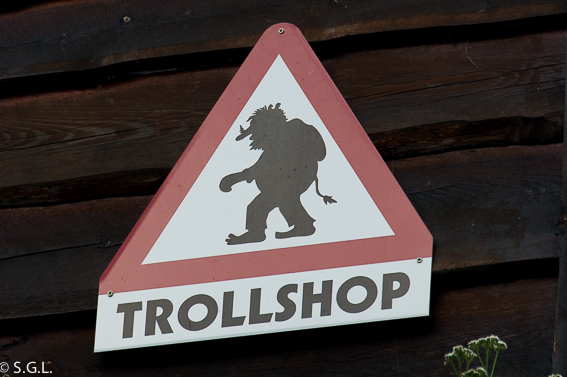 Trollshop. Noruega