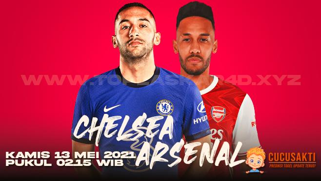 Prediksi Bola Chelsea vs Arsenal Kamis 13 Mei 2021