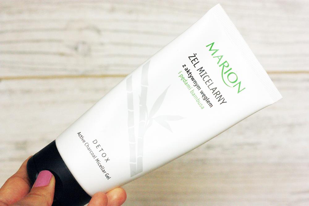 marion-zel-micelarny-z-aktywnym-weglem, pielegnacja-twarzy, oczyszczanie-twarzy