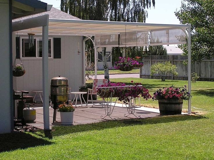Permanent Canopies Amp Deck Awning And Canopies