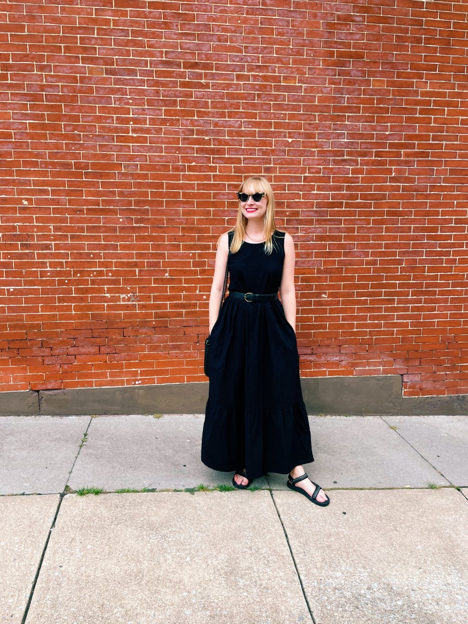Styling a Black Maxi Dress for Summer   Organized Mess