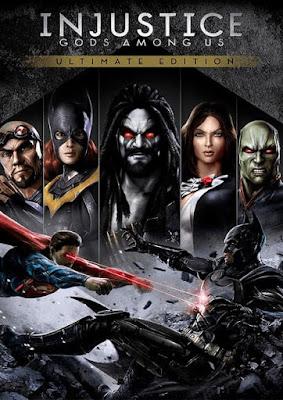 Capa do Injustice: Gods Among Us Ultimate Edition