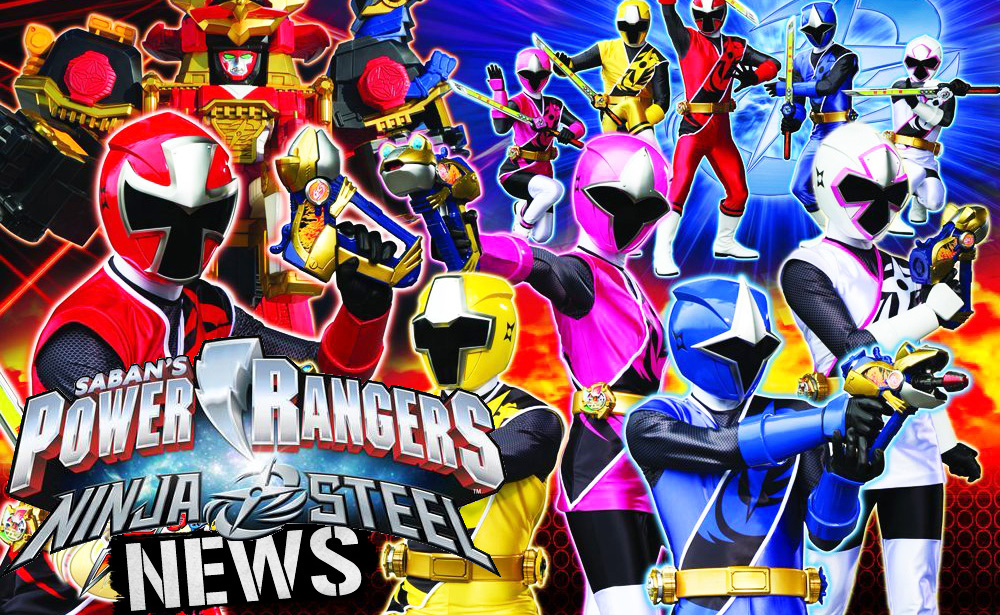 Power Rangers Ninja Steel Logo Revealed Review Jefusion