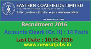 eastern+coalfields+limited+recruitment+2016
