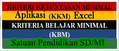 Edisi Revisi Aplikasi KKM Satuan Pendidikan SD/MI K13