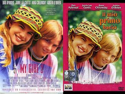 La locandina di ''My girl 2'', in italiano ''Il mio primo bacio''