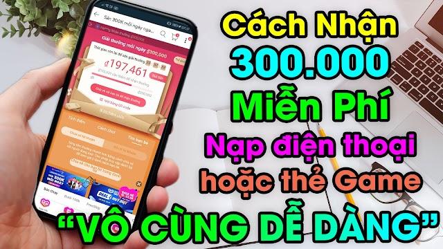 Hướng dẫn cách nhận 300K trên LAZADA mỗi ngày mua hàng Online miễn phí