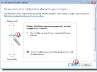 Cara Mengatur Pemberitahuan UAC (User Account Control) agar Tidak Mengganggu Tampilan