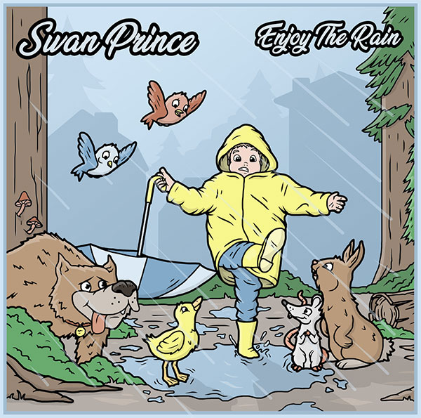 "Swan Prince stream new EP "" Enjoy The Rain """