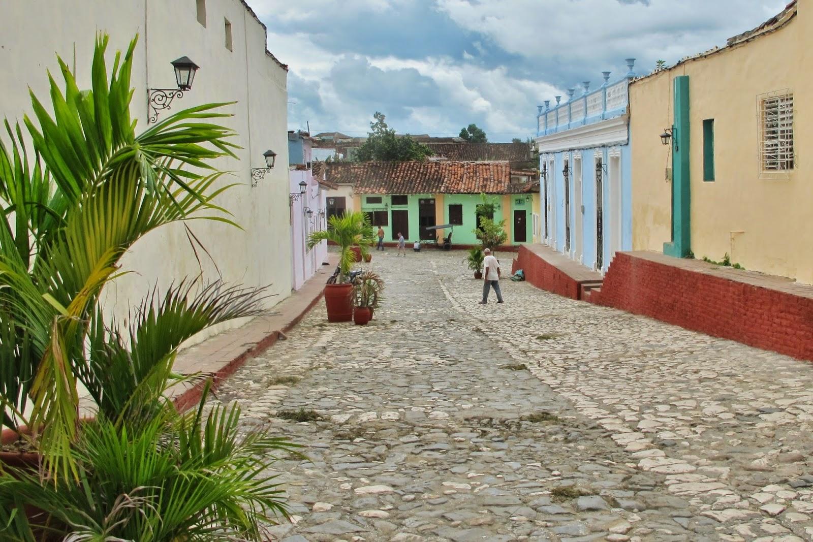 Centro histórico de Sanctu Spiritus, na região central de Cuba