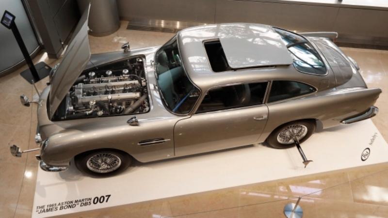 Mobil James Bond DB5 Produksi 1965 Laku Rp90 Miliar dalam Lelang