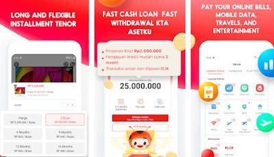 aplikasi peminjaman online di akui OJK