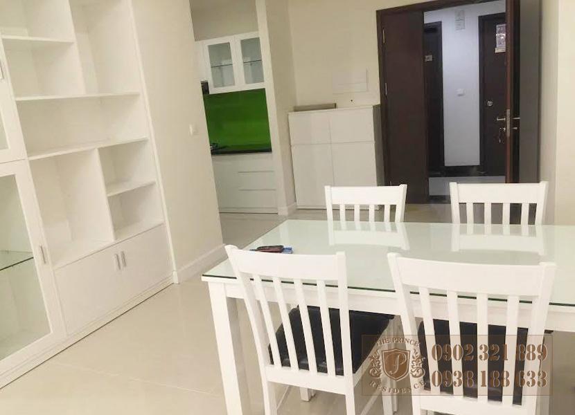 Cho thuê căn hộ The Prince 3 phòng ngủ - bộ bàn ăn