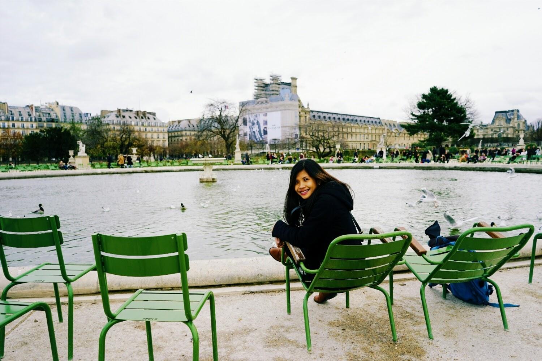 Jardin des Tuileries Octagonal Basin