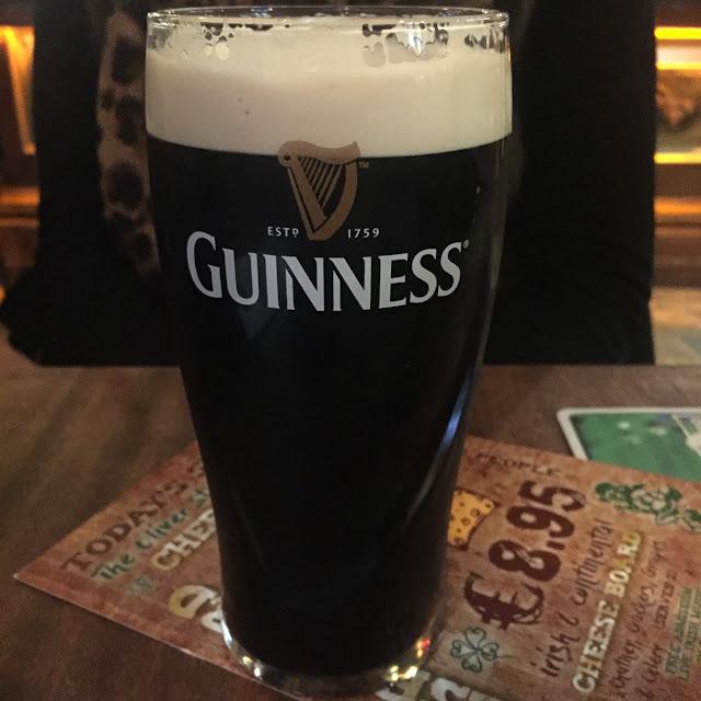 Dublin city break, Temple Bar guinness