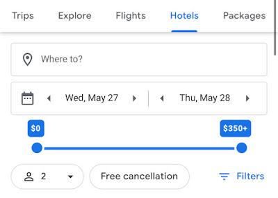 Use Google Hotel Search Calendar to Find Hyatt Cheapest Date