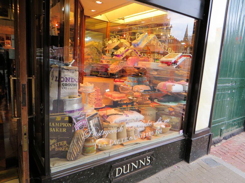 Crouch End - Dunn's Bakery   Good Food Shops