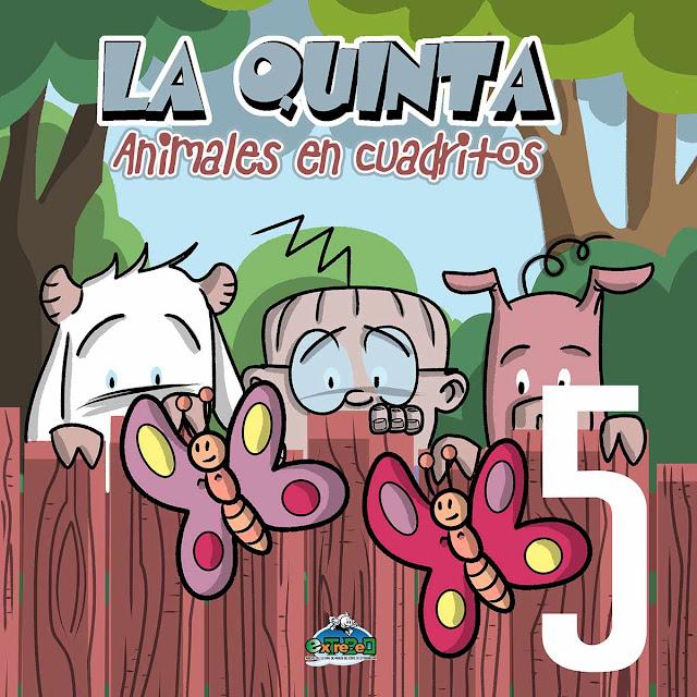 Nº5 La Quinta: Animales en cuadritos