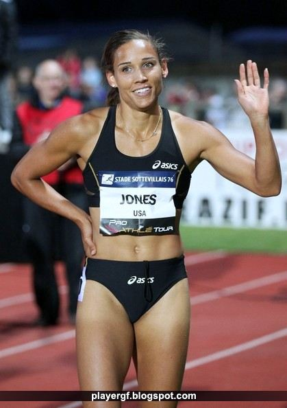 Lolo Jones Reacts After Qualifying For Olympics After Coming In Third In The Women Meter Hurdles Final During Day Two Of The Olympic Track Amp Field Team Trials At Hayward Field On June In