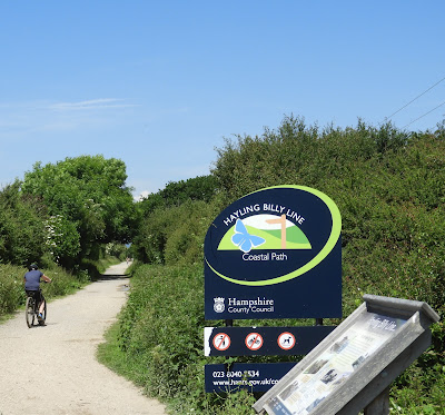 hayling billy line coastal path