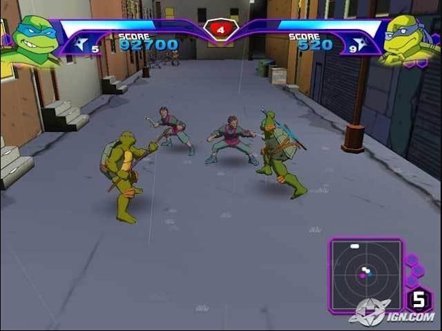 تحميل لعبة ابطال النينجا الجزء الاول 1 download Teenage Mutant Ninja Turtles كامله