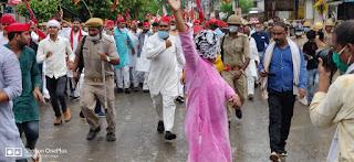 भाजपा सरकार की मनमानी कार्यशैली और दमनकारी नीतियों से त्रस्त है जनता : लाल बहादुर यादव | #NayaSaberaNetwork